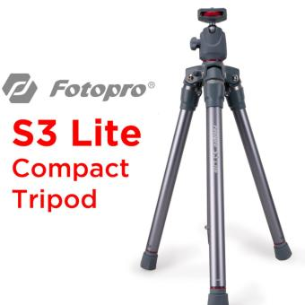 Harga Fotopro S3 lite compact tripod (RED)
