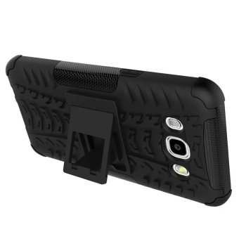 Harga BYT Rugged Dazzle Case for Samsung Galaxy J5 2016 with Kickstand (Black)