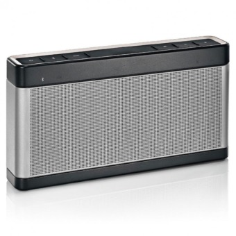 Genesis F-168 Extra Bass Portable Bluetooth Speaker (Silver) Price Philippines
