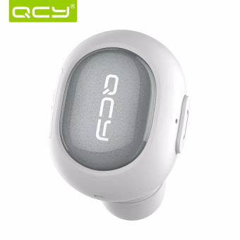 QCY Q26 Original Sweatproof Bluetooth Earphone with Microphone (White) Price Philippines
