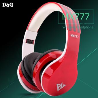 Ovleng MX777 Wireless Headphone (Red) Price Philippines