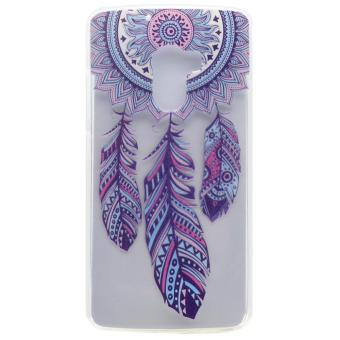 For Lenovo Vibe K4 Note / A7010 / Vibe X3 Lite Patterned Flexible TPU Back Protective Cover - Tribal Dreamcatcher - intl Price Philippines