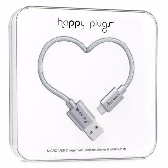Happy Plugs Deluxe Edition Micro-USB Charge/Sync Cable 2m (Space Grey) Price Philippines