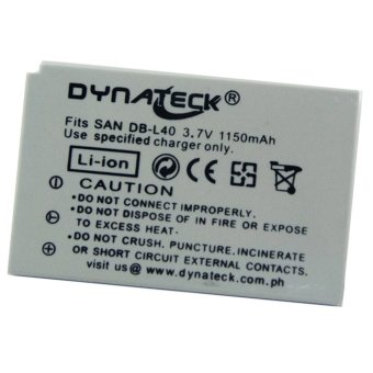 Dynateck Digital Camera Battery for Sanyo DB-L40 DBL40 Price Philippines