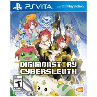 Harga Digimon Story: Cyber Sleuth Game R3 for PS Vita