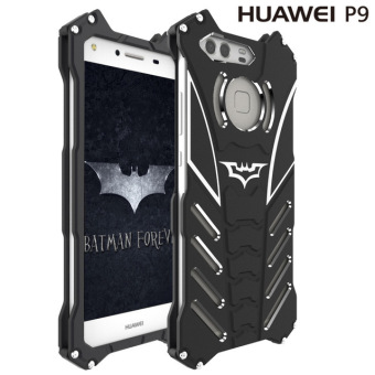 Harga R-JUST Batman Heavy Dust Metal Armor Aluminum Housing Phone Case For Huawei P9