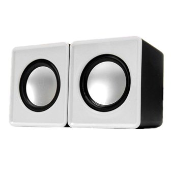 LC Excellence S20 Mini Stereo Speaker (White) Price Philippines