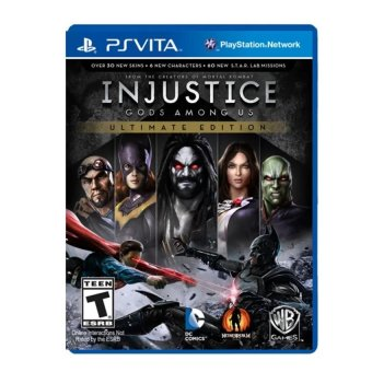 Harga Warner Bros. Interactive Injustice God Among Us: Ultimate Edition for PSP Vita