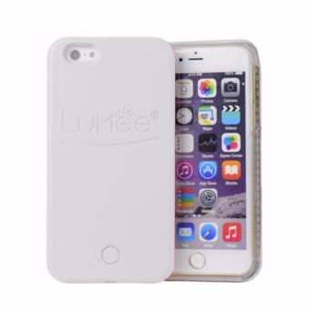 Harga LED Lumee selfie case for IPhone 6/6s (white)