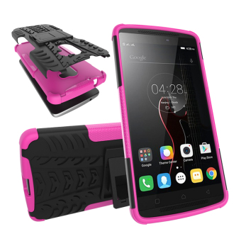 TPU + PC Armor Hybrid Case Cover for Lenovo Vibe X3 Lite / Lenovo A7010 (Pink) Price Philippines