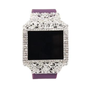 Fitbit Blaze Bands Strap Case Bling Jewelry Accessory Wristband Cover for Fitbit Blaze Smart Watch Band(ONLY bling accessory, NO TRACKERS, no wristband) - intl Price Philippines