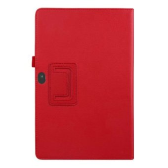 Harga Stand Leather Case Cover For Microsoft Surface 10.6 Red
