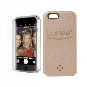 Harga LED Lumee Selfie Case For Apple iPhone 6/6s (Gold)