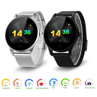 Harga Excelvan K88H Smart Watch for Android and IOS(Silver)