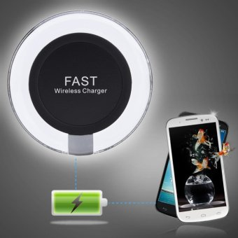 Qi Wireless Fast Charger Quick Charging Adapter for Samsung Galaxy S6 S7 S8 iPhone 7 - intl Price Philippines