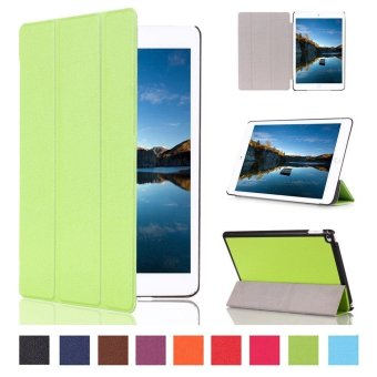 For Apple iPad Pro 10.5 Case - Ultra Lightweight Slim Smart Cover Case for Apple iPad Pro 10.5 inch 2017 Tablet(Green) - intl Price Philippines