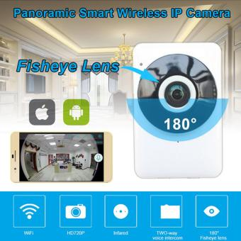 Harga HD 1080P Wireless WiFi Network IP Camera Security Fisheye Night Vision Monitor Webcam Home Baby Monitor