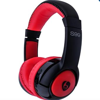 Ovleng S99 Wireless Stereo Bluetooth Headphone (Red/Black) Price Philippines