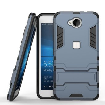 Harga For Microsoft Nokia Lumia 650 Case Shockproof Robot Armor Case Hybrid Silicone Rubber Hard Back Phone Cover For Microsoft N650 - intl