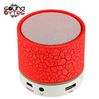 Sound Bytes Mini LED Bluetooth Speaker (Red) Price Philippines