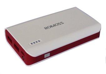Romoss Solo 3 Rose Red Limited Edition 6000mAh Power Bank with LED Torch (White/Red) Price Philippines