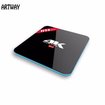 Harga Artway H96 Pro Amlogic S912 Android 6.0 Set top Box with 3G RAM and 16G ROM - intl