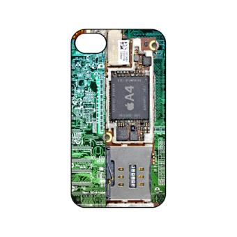 Harga PlanetCases Circuit Board Hard Case for iPhone 4/4s