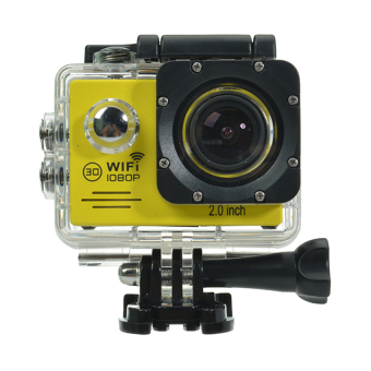 SJ7000 Action Camera 2 Inch LCD Wifi Waterproof Sports Cam (Yellow) Price Philippines