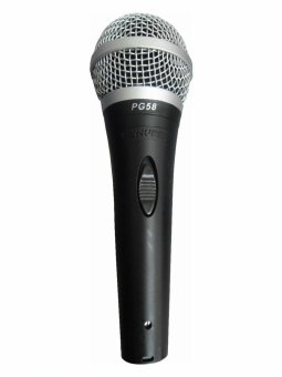 Harga Shure PG58 Performance Gear Vocal Microphones (Black)