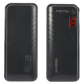 MoYou PC187 18000mAh Power Bank (Black) Price Philippines