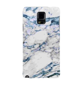 Harga PlanetCases White Marble Hard Case for Samsung Note 4