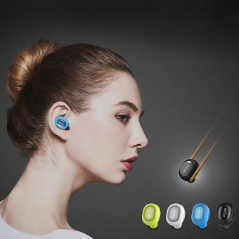 QCY Q26 Wireless Mini In-ear Stereo Smart Bluetooth Headset Earphone Microphone Microphone(White) - intl Price Philippines
