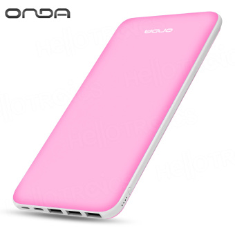 ONDA N200T 20000 mAh Fast-Charger 3.0 Portable Battery Power Bank (Pink) Price Philippines