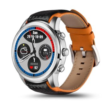 2017 best watch Lemfo Lem5 android 5.1 OS Smart Watch with 1GB+8GB Bluetooth 3G wifi smartWatch for iPhone IOS android phone - intl Price Philippines