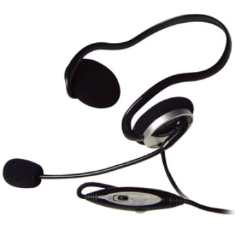 A4TECH HS-5P Internet Headset with Mic (Black) Price Philippines