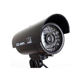 Lwentian Brand Dome Dummy Fake Camera Home Surveillance Security LED Night Vision 1/2/3/4/5pcs - intl Price Philippines