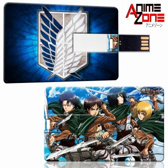 ANIME ZONE Attack on Titan Anime Survey Corps 64 GB USB Card Flash Drive Price Philippines