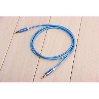 AUX-C2 1M 3.5mm To 3.5mm Stereo Audio Cable (Blue) Price Philippines