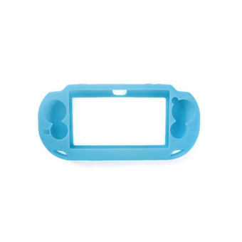 Harga OH Blue Soft Silicone Skin Protector Cover Case for Sony PS Vita Console PSP