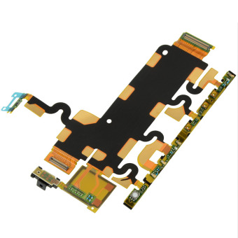 Power on/off Button Connector Volume Flex Cable for Sony Z1 Series Price Philippines