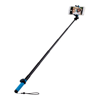 Harga MOMAX Selfie Hero 100cm Touchless Selfie Pod with Bluetooth Remote Shutter - Blue