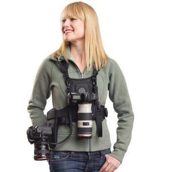 MICNOVA Carrier II Camera Carrier Photographer Vest with Dual Side Holster Strap Price Philippines