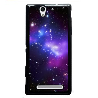 Y&M Phone Case For SONY Xperia C3 Beautiful Star Skyle Pattern Cover (Multicolor) Price Philippines