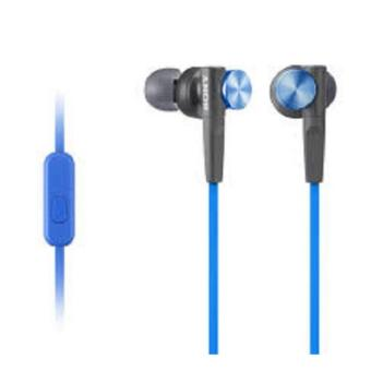 Sony MDR-XB50AP EXTRA BASS™ In-Ear Headphones (Blue) Price Philippines