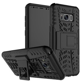 Harga BYT Rugged Armor Dazzle Back Cover Case for Samsung Galaxy S8 - intl