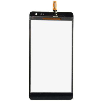 Harga Black Front Touch Screen Digitizer for Microsoft Nokia Lumia 535 2C- - intl