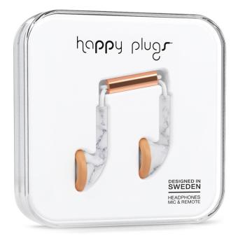 Happy Plugs Earbud Unik Edition (White Marble Rose) Price Philippines