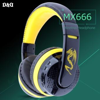 Ovleng MX666 Wireless Headphone (Yellow) Price Philippines
