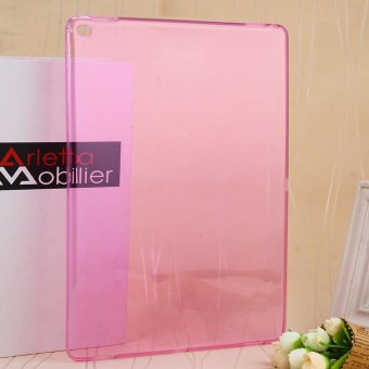 TPU Transparent Silicon Soft Case Ultra Thin for Apple iPad Pro (Pink) Price Philippines