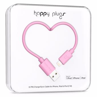 Happy Plugs Lightning Charge/Sync Cable 2m (Pink) Price Philippines